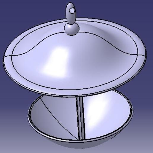 Télécharger fichier STL gratuit water trough for birds / abreuvoir pour oiseaux • Plan pour imprimante 3D, Neylips