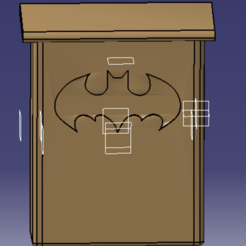 pic 1.PNG Download free STL file Bat Shelters / shelters for bats • 3D print object, Neylips