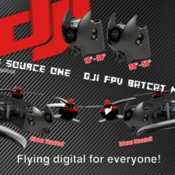 TBS Source One BatCAT Cults3D.png Download STL file TBS Source One - DJI FPV BatCat MOD • 3D printer template, bopiloot
