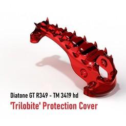 "trilobite.JPG Download STL file Diatone R349 TM3419 HD ""Trilobite"" Cover • 3D printer model, bopiloot"