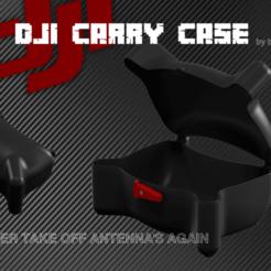 dji fpv case 2.png Download STL file DJI FPV - Carry Case • 3D printing object, bopiloot