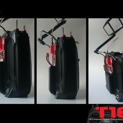 Télécharger modèle 3D gratuit T16 boîtier de batterie étendue R9M, bopiloot