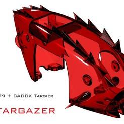 "Tyro_Tarsier_Skygazer.JPG Download STL file Tyro79 Tarsier ""Stargazer"" • 3D printer template, bopiloot"