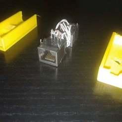 Descargar Modelos 3D para imprimir gratis rj45 adaptador doble hembra, claudiopereyra76