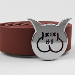 ACDC_Gürtel.png Télécharger fichier STL boucle de ceinture • Modèle imprimable en 3D, wowo3D