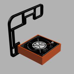 Descargar modelo 3D refrigerador para ordenador, wowo3D