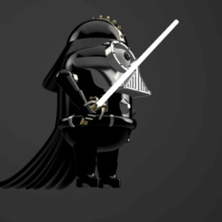 Impresiones 3D MINI-DARTH, wowo3D