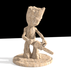 Download STL files SAW-GROOT, wowo3D