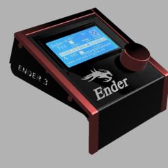 Abdeckung Perspekt1.png Télécharger fichier STL Afficheur - Cadre pour imprimante 3D Ender 3 et Ender 5 • Plan pour imprimante 3D, wowo3D
