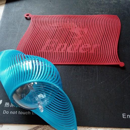 IMG_20201117_114328.jpg Télécharger fichier STL Décoration de Noël - Spirale • Objet pour impression 3D, wowo3D