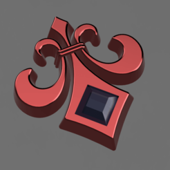 Descargar archivos 3D gratis Fleur-de-Lys, wowo3D