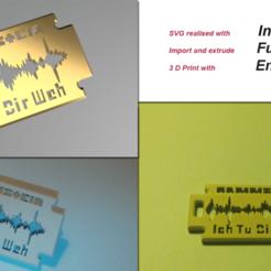 rammi1.png Download STL file Rammstein_ich tu dir weh • Object to 3D print, wowo3D