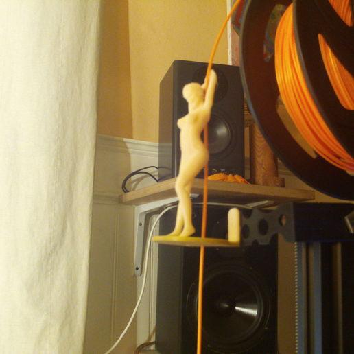 Download 3D printer templates Filament guide pole dance, wowo3D