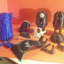 Download 3D printer designs Mini-Leia, wowo3D