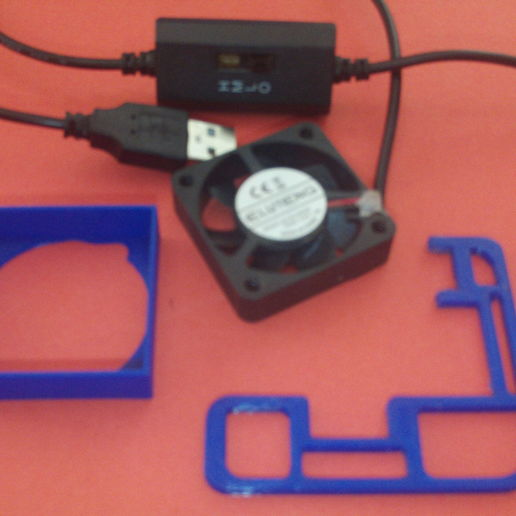 Download 3D printing templates cooler for computer, wowo3D