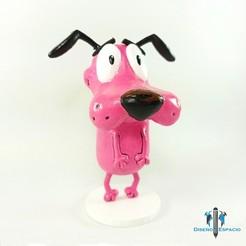 portada.jpg Télécharger fichier STL Courage / Les tripes du chien lâche • Modèle pour imprimante 3D, DyE3D