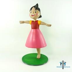 Foto1.jpg Télécharger fichier STL Heidi, la fille des Alpes • Plan pour imprimante 3D, DyE3D