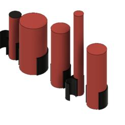 eg holsters.PNG Télécharger fichier STL Système d'étui pour les grenades à air comprimé EG • Plan imprimable en 3D, jay_jay_ski
