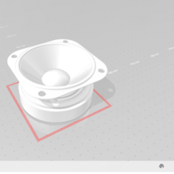 speaker.PNG Download STL file Speaker Pendant • 3D printer model, jay_jay_ski