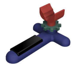 Download 3D printing models zeroing rifle stand, jay_jay_ski