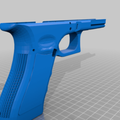 airsoft_lower_g17.png Download free STL file glock lower airsoft • 3D print design, jay_jay_ski