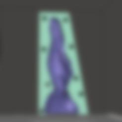 Imprimir en 3D El moho nudoso de las mariposas, FantasDicks
