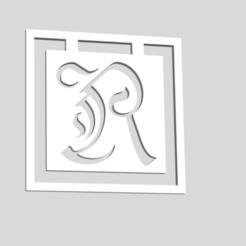 Download 3D print files Alphabet Bookmarks Letter R, chantellex