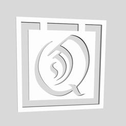 Descargar STL Marcadores del Alfabeto Letra Q, chantellex