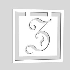 Descargar archivos STL Marcadores del Alfabeto Letra Z, chantellex