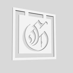 Download 3D printer designs Alphabet Bookmarks Letter G, chantellex