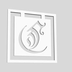 Download 3D printer templates Alphabet Bookmarks Capital Letter C, chantellex