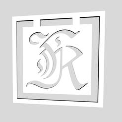 Download 3D printing designs Alphabet Bookmarks Letter K, chantellex