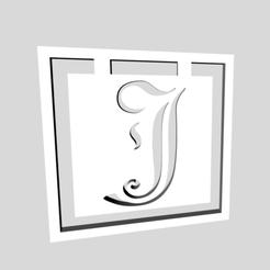 Download 3D printing files Alphabet Bookmarks Letter J, chantellex