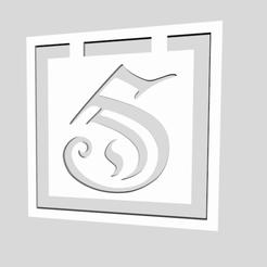 Screen Shot 2019-12-22 at 8.04.50 PM.png Télécharger fichier STL Signets de l'alphabet Monogramme Lettre S • Objet à imprimer en 3D, chantellex