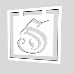 Descargar diseños 3D Marcadores de alfabeto Letra S, chantellex