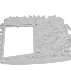 88bd74e129e10029a2b2a12baec568e9.png Download STL file Parrot Frame'd It • 3D print object, FraGar