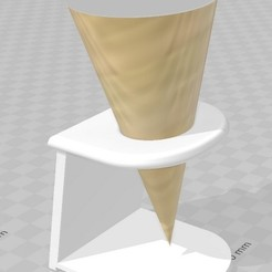 Download free 3D printing designs Ice_Cone_Holder_02, FraGar