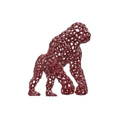 Télécharger objet 3D gratuit Gorille_3_mm_voronoï_simplifié, FraGar
