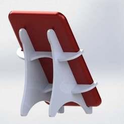 Impresiones 3D gratis El soporte de la tableta de pie, FraGar