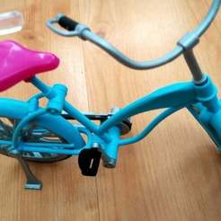IMG_20170310_152548_HDR.jpg Download free STL file Barbie bike pedal • Template to 3D print, FraGar
