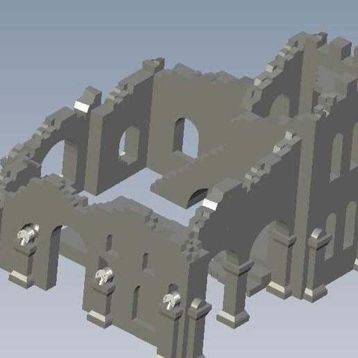 Télécharger fichier STL gratuit Ruines de la tour • Design imprimable en 3D, FraGar