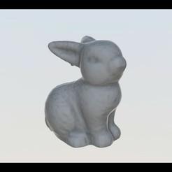 Télécharger plan imprimante 3D gatuit Lapin_01, FraGar