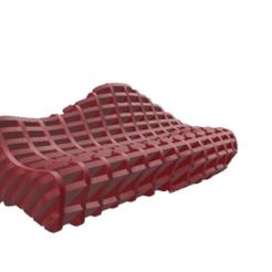 aeaaad272eae2bfea4b98f0cfd5208e3.png Télécharger fichier STL Organic_Sofa • Plan à imprimer en 3D, FraGar