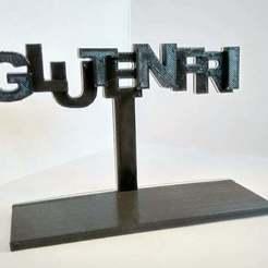 IMG_20170502_201915_HDR.jpg Download free STL file Glutenfri • Model to 3D print, FraGar