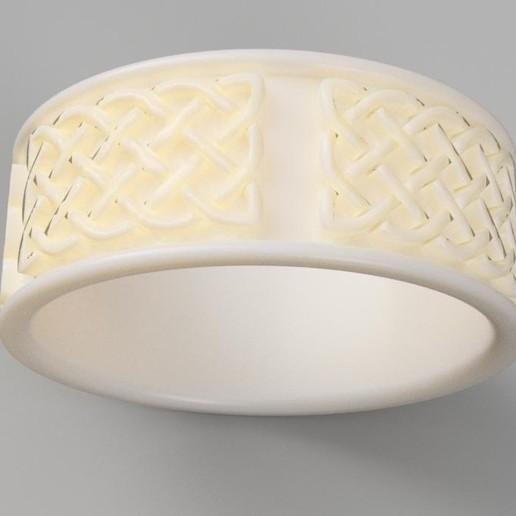 Download 3D print files Celtic Ring, FraGar