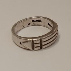 Egyptian_10.jpg Download STL file Egyptian Ring • 3D print design, FraGar