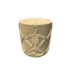 Télécharger fichier STL gratuit Skeleton-Light • Plan imprimable en 3D, FraGar