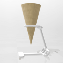 Download 3D printing files Ice_Cone_Holder_01, FraGar