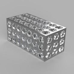 Pen_Holder_01_2020-May-26_07-00-12AM-000_CustomizedView14627127565_jpg.jpg Télécharger fichier STL Porte-plume 01 • Plan à imprimer en 3D, FraGar