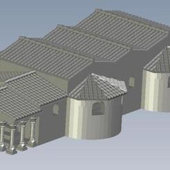 Download free 3D printer designs Roman_Bath, FraGar